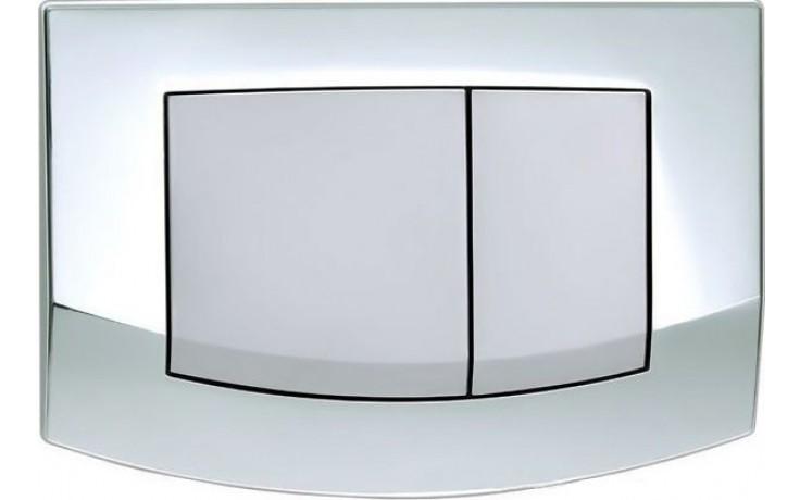 TECE AMBIA ovládací tlačítko 214x152mm, dvoumnožstevní splachování, lesk/mat chrom