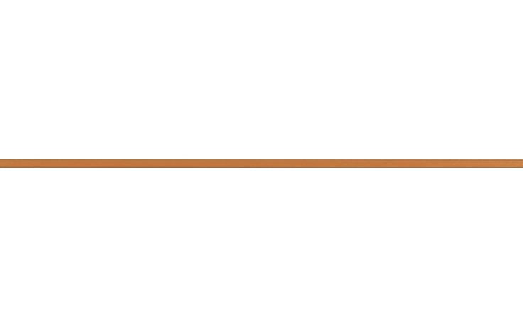 RAKO CHARME listela reliéfní 60x1,5cm oranžová WLASW001