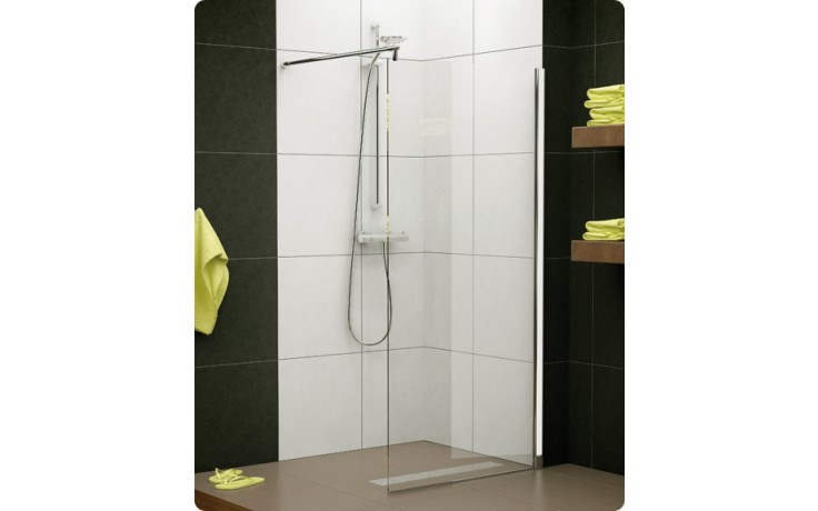 Zástěna sprchová boční Ronal sklo Pur Light PLDT 0750 50 07 750x2000 mm aluchrom/čiré AQ