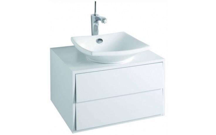 Nábytek skříňka pod umyvadlo Kohler Escale 2 zásuvky 60x51,5x36 cm Gloss White