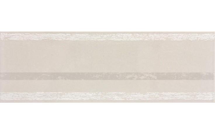 Dekor Rako Porto 20x60 cm šedo-béžová