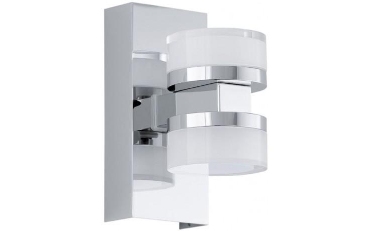 EGLO ROMENDO nástěnné svítidlo, 2x4,5W, led, čirá, mat/chrom