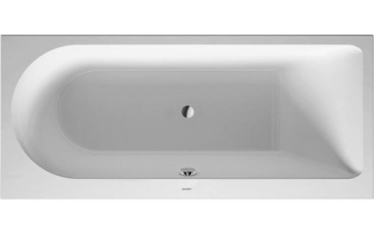 Vana plastová Duravit - Darling New rohová pravá 170x75 cm bílá