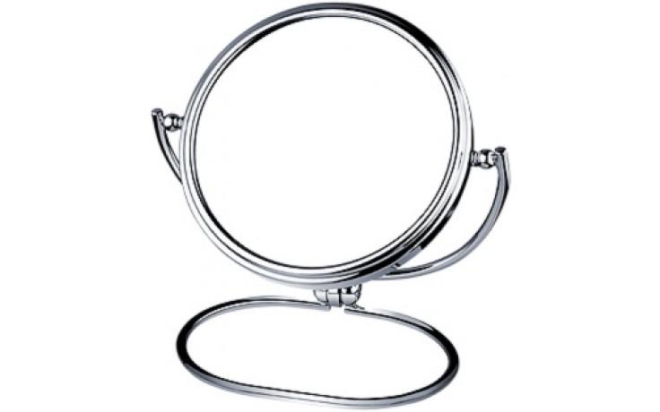 Doplněk zrcadlo Nimco kosmetické, stojánkové 15x19 cm chrom