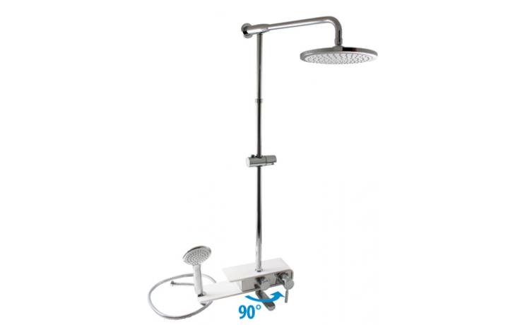 Sprcha sprchový set RAV Murray vč. vanová pákové baterie 150 mm chrom