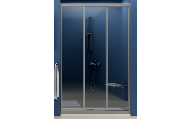 RAVAK SUPERNOVA ASDP3 90 sprchové dveře 870-910x1880mm třídílné, posuvné, bílá/grape