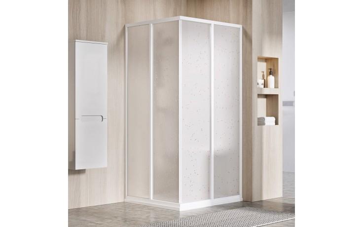 RAVAK SUPERNOVA SRV2-S 75 sprchové dveře 720-740x1850mm, jeden díl, bílá/pearl