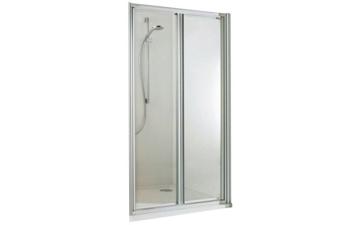 CONCEPT 100 sprchové dveře 900x1900mm lítací, stříbrná/matný plast