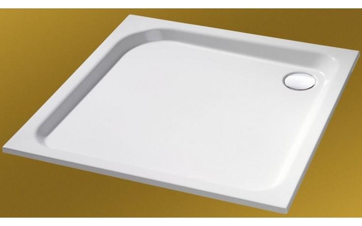 Vanička litý mramor Huppe čtverec Verano 80 cm bílá