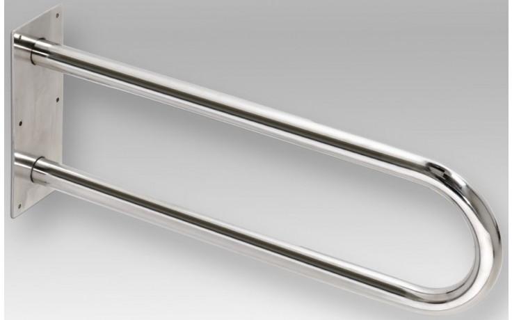 Doplněk madlo GOZ METAL pevné U-tvar l=600mm nerez-brus