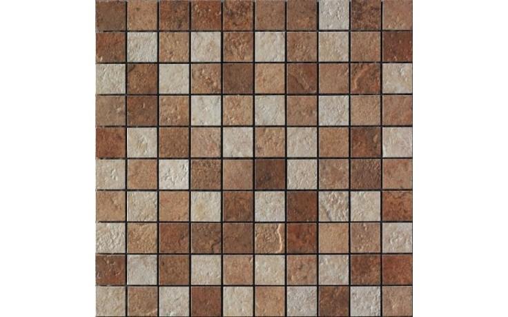 IMOLA ETNEA NEW mozaika 33x33cm dark red, MK.LIPARINEW 2