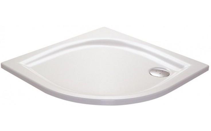 RAVAK ELIPSO 90 LA sprchová vanička 900x900mm, akrylátová, čtvrtkruhová, bílá