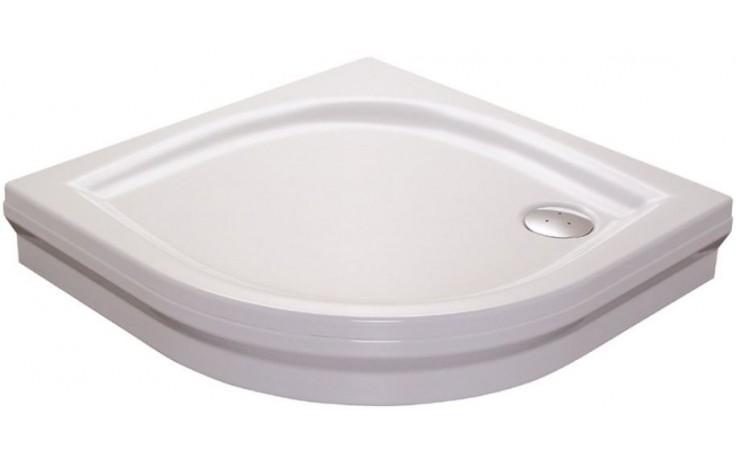 RAVAK ELIPSO 90 PAN sprchová vanička 900x900mm, akrylátová, čtvrtkruhová, bílá