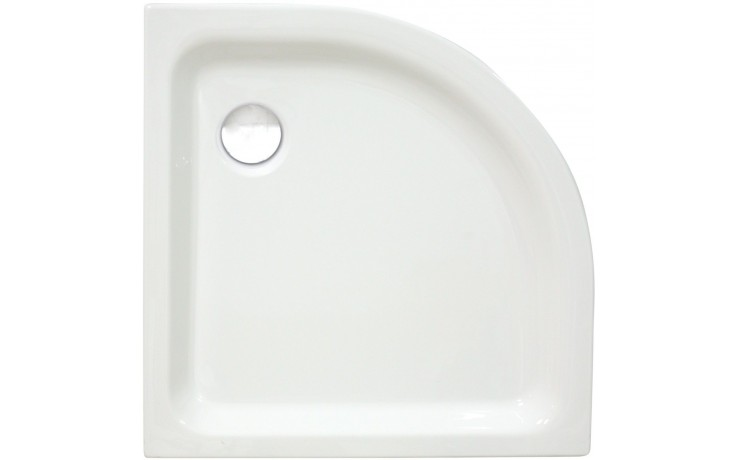 CONCEPT 100 sprchová vanička 1000x1000mm akrylátová, čtvrtkruh, R 550mm, bílá 55670001000