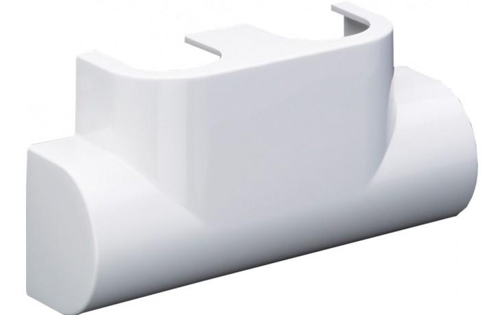 CONCEPT designová krytka pro Multiblock T rohový, bílá