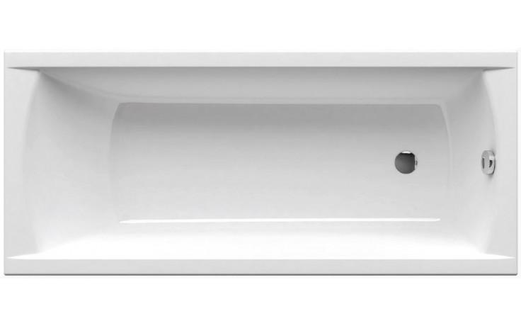 RAVAK CLASSIC 150 N klasická vana 1500x700mm, bez nožiček, akrylátová, obdélníková, bílá