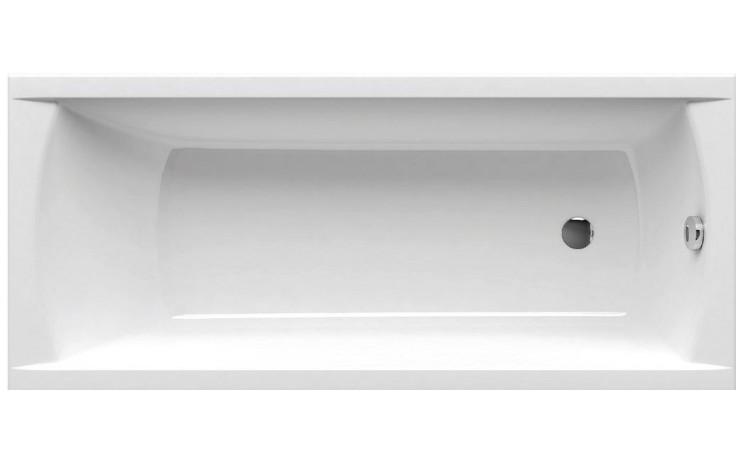RAVAK CLASSIC 160 klasická vana 1600x700mm, bez nožiček, akrylátová, obdélníková, snowwhite