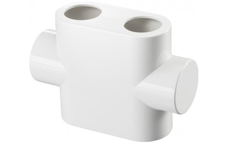 CONCEPT designová krytka pro Multiblock T, přímý, bílá
