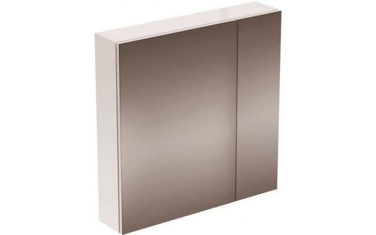 IDEAL STANDARD STRADA zrcadlová skříňka 700mm s osvětlením, lak dekor hliník K2668AL