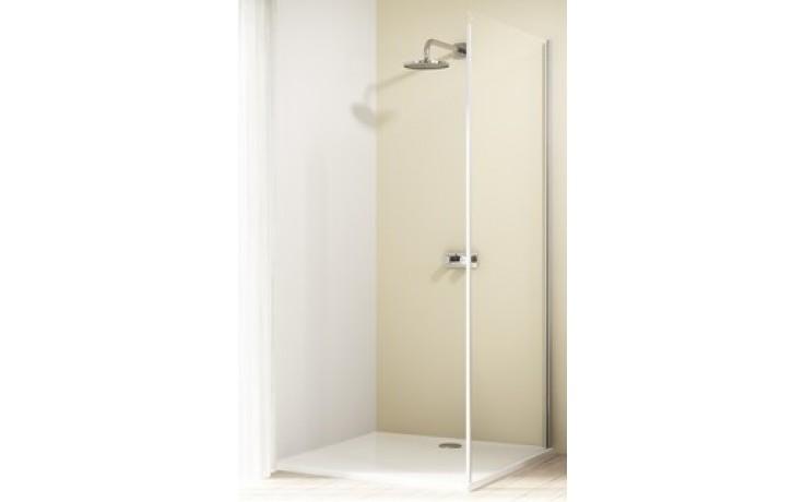 Zástěna sprchová boční Huppe sklo Design elegance 800x2000 mm stříbrná lesklá/čiré AP