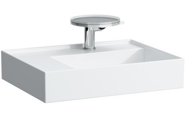Umyvadlo nábytkové Laufen s otvorem Kartell by Laufen 60x46 cm bílá
