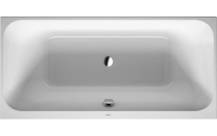 Vana plastová Duravit - Happy D.2 verze k zabudování 190x90 cm bílá