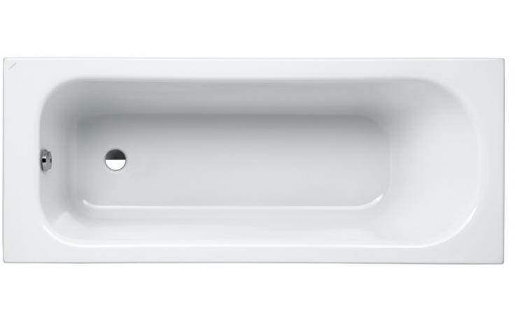 LAUFEN SOLUTIONS vana vestavná 1700x700mm akrylátová, s hliníkovou konstrukcí, bílá 2.2250.1.000.605.1