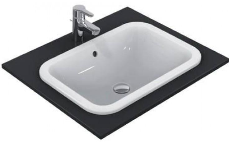 Umyvadlo zápustné Ideal Standard bez otvoru Connect 58x41x17,5 mm bílá