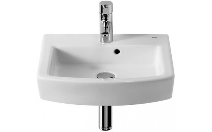 ROCA HALL umývátko 450x380mm s otvorem, s instalační sadou, bílá 7327624000