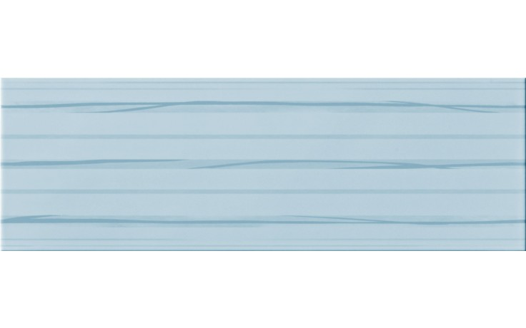 IMOLA ANTIGUA dekor 20x60cm blue, RIGO L1
