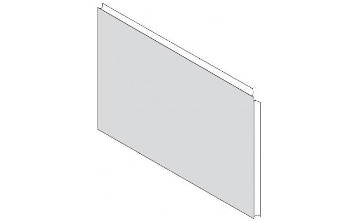 RAVAK YOU 85 L panel A 873mm boční, levá, snowwhite CZ01120A00