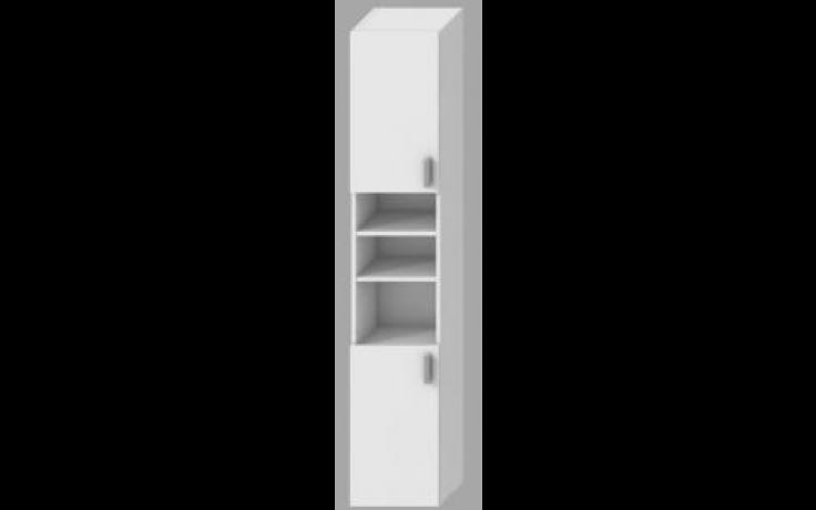 JIKA Lyra pack skříňka 320x251x1700mm vysoká, mělká, bílá