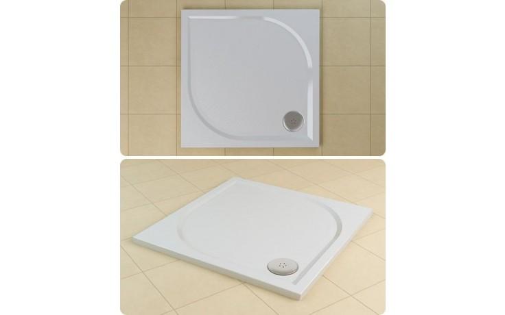 SANSWISS MARBLEMATE WMQ vanička 1000x1000x30mm, čtverec, bílá