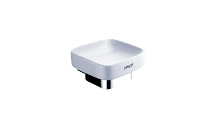 NIMCO KIBO mýdlenka 101x115x57mm chrom/bílá KI 14059K-26