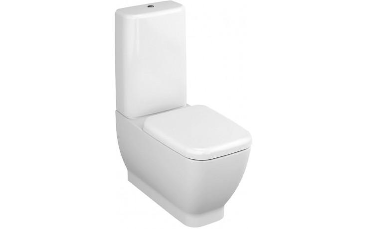 VITRA SHIFT WC mísa 360x700x400mm, se skrytým přívodem, bílá