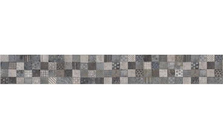 KERABEN KURSAL listela 12x50cm, folk gris