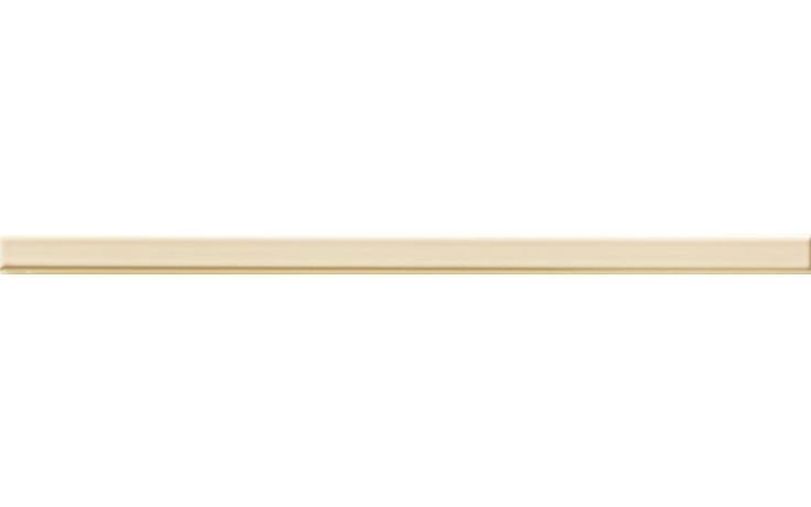 RAKO VANITY listela 40x2cm světle žlutá WLRMG041