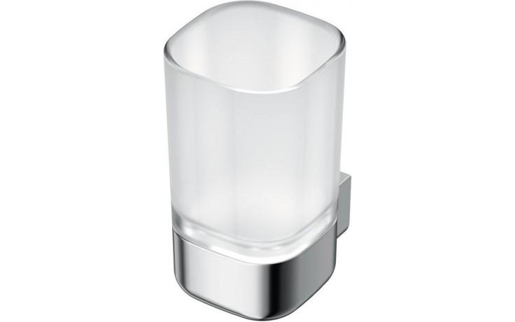 Doplněk držák se skleničkou Ideal Standard SoftMood  chrom