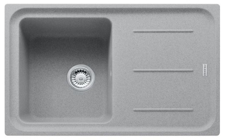 FRANKE IMPACT IMG 611-78 dřez 780x500mm s odkapávačem, Fragranit DuraKleen Plus/šedý kámen