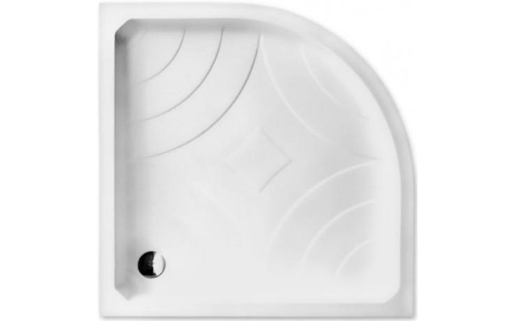 ROLTECHNIK HAWAII-P sprchová vanička 800x800x170mm R550 akrylátová, čtvrtkruhová, bílá