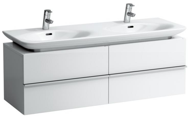 LAUFEN CASE skříňka pod umyvadlo 1290x430x425mm se 4 zásuvkami, bílá 4.0133.2.075.463.1