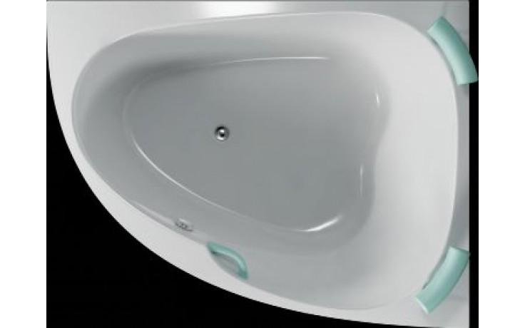 Vana plastová Teiko tvarovaná Spinell 180 P 180x130x54cm bílá