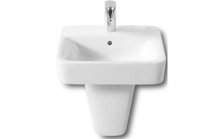 ROCA SENSO SQUARE umývátko 450x440mm s otvorem, s instalační sadou, bílá 732751T000
