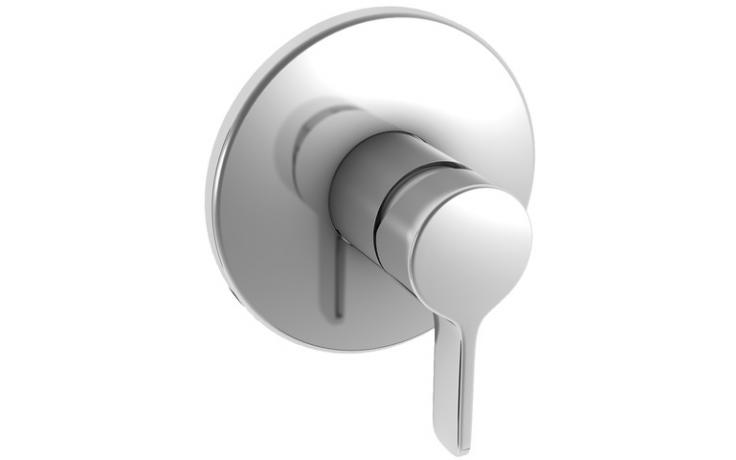 LAUFEN CURVEPRIME vrchní sada podomítkové sprchové baterie, pro Simibox, chrom 3.3170.6.004.000.1
