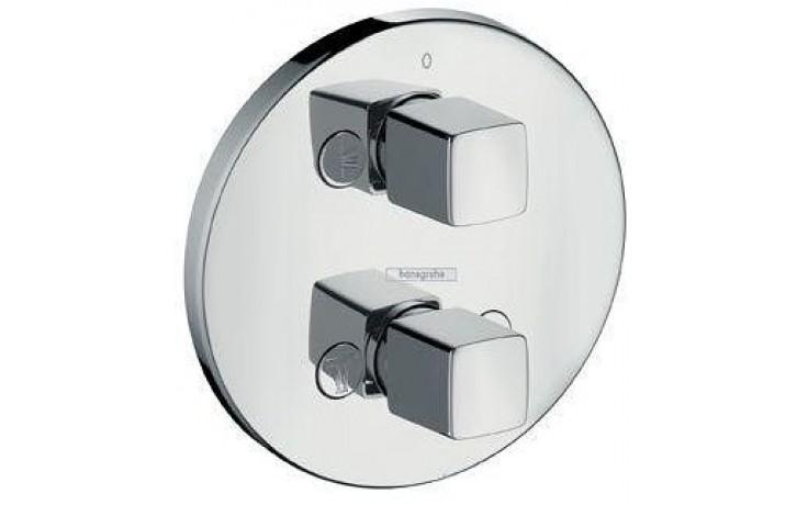 Ventil uzavírací Hansgrohe - Metris iControl s přepínačem, podomítkový, vrchní sada