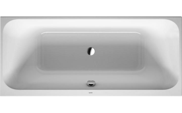 Vana plastová Duravit - Happy D.2 verze k zabudování 180x80 cm bílá