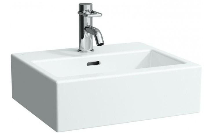 Umývátko klasické Laufen bez otvoru Living City 45 cm bílá