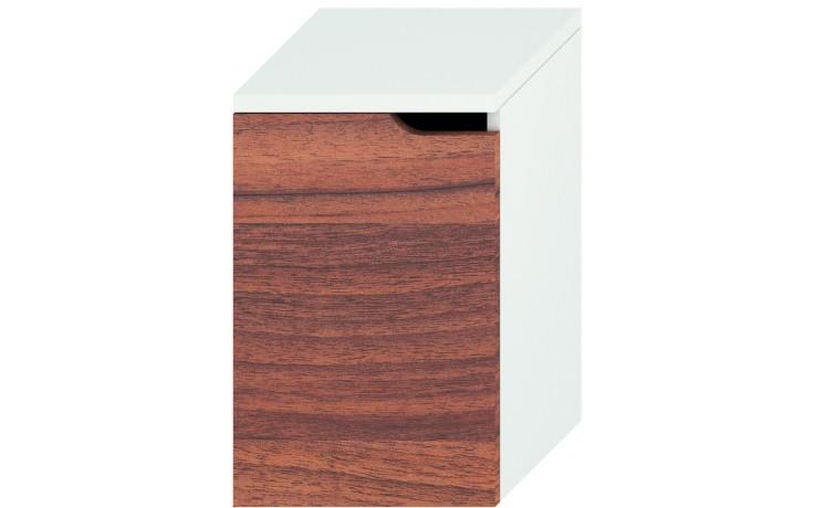 JIKA MIO střední skříňka 363x340mm levá, bílá/ořech