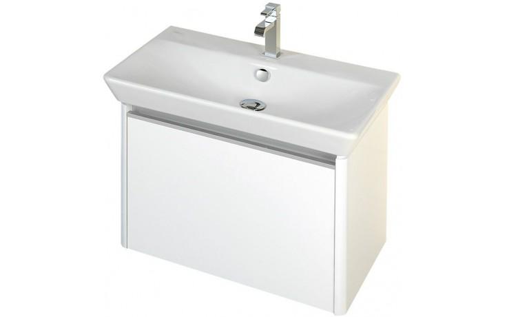 CONCEPT 600 skříňka pod umyvadlo 52,5x42x43cm závěsná, šedá/šedá C600.60.SG