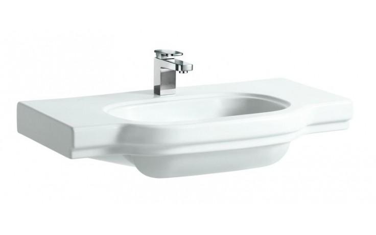 LAUFEN LB3 CLASSIC umyvadlo do nábytku 850x520mm s otvorem, bílá 8.1068.6.000.104.1